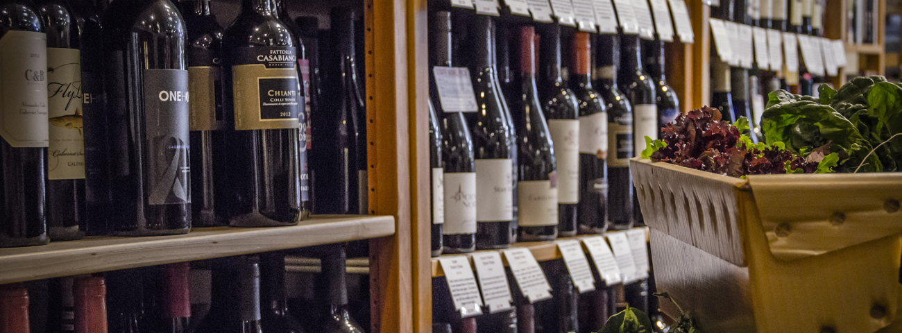 Wines for sale at Coastal Cupboard in Mount Pleasant, SC