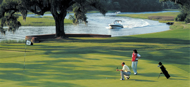 Dunes West golf course in Mount Pleasant, SC