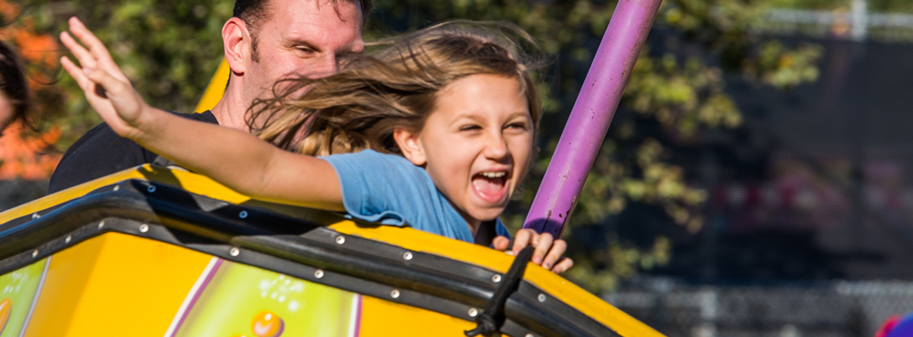 Children's festival ride in Mount Pleasant, SC