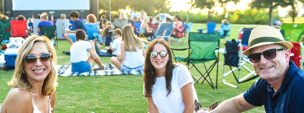 Waterfront Music and Movies every Friday in August