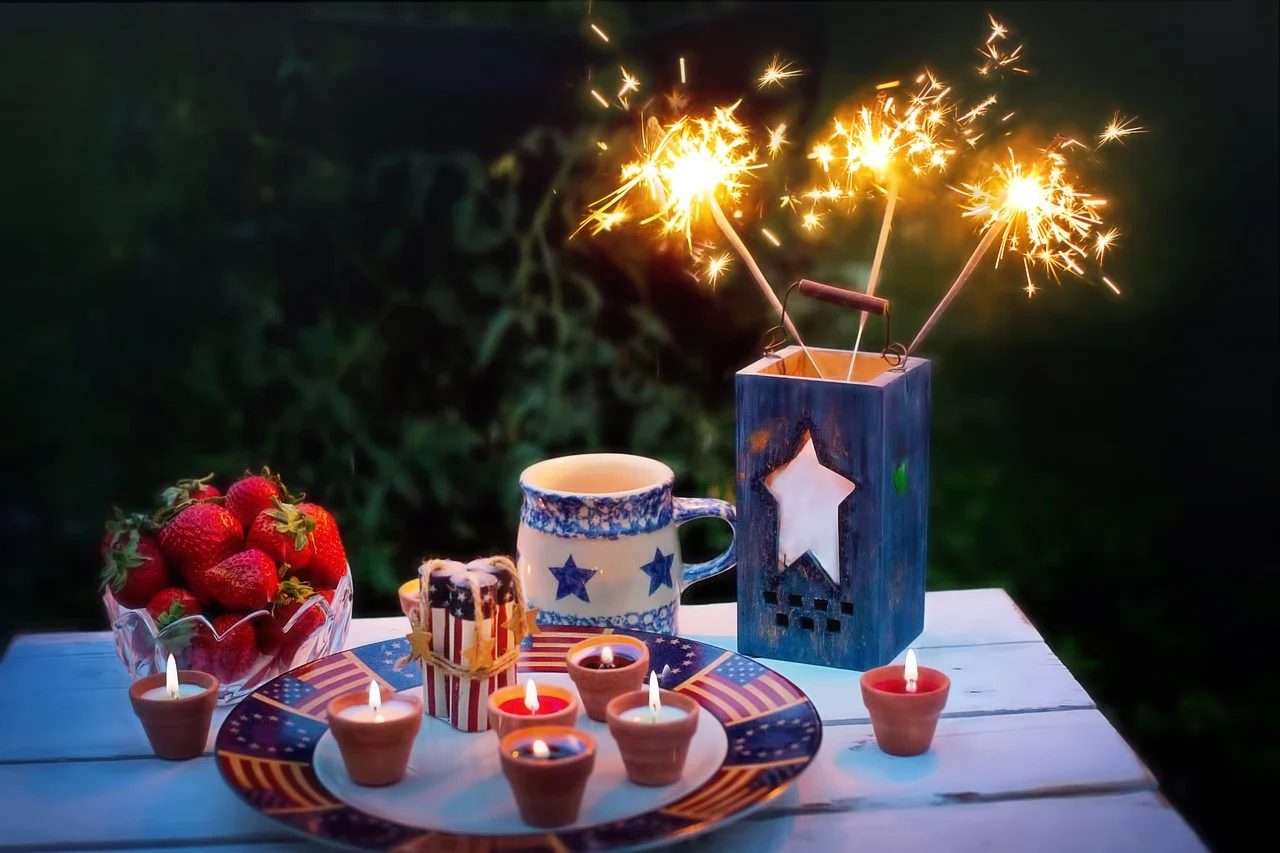 July 4th Table Spread